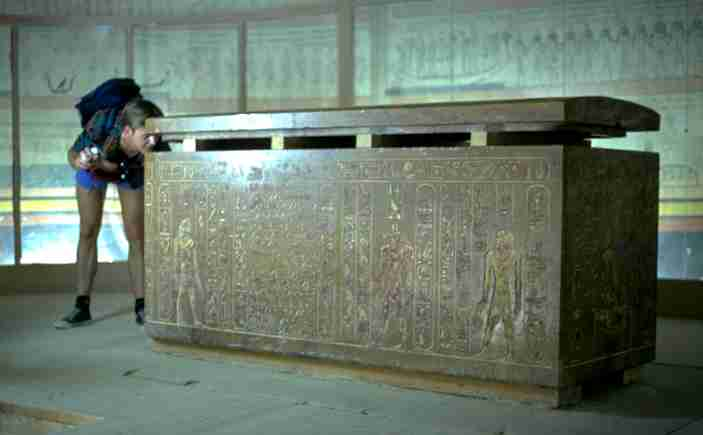 The sarcophagus of Thutmosis III