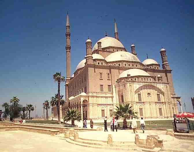 The White Mosque in Cairo